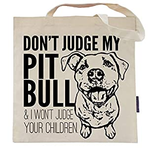 Don't Judge My Dog Tote Bag by Pet Studio Art 36