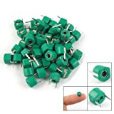 Sonline 30pF Plastic Green Case Adjustable Trimmer Capacitors 50 Pcs, Model: 35728, Electronic Store