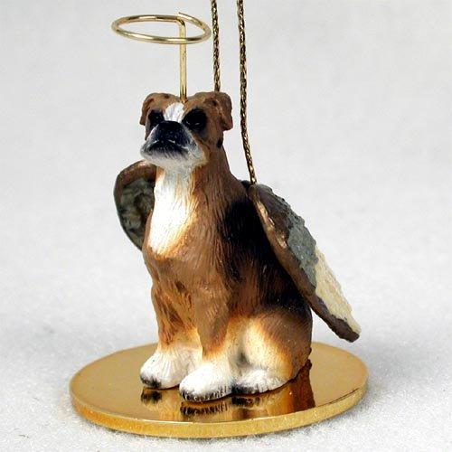 Brown Angel Dog Ornament - 4