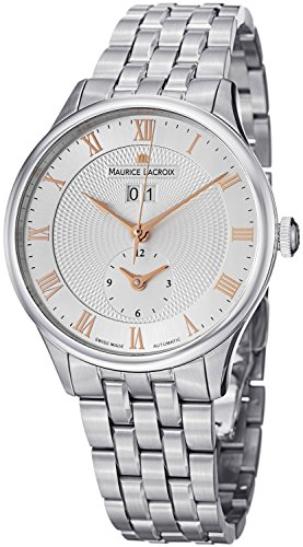 Maurice Lacroix MasterPiece Men's GMT Automatic Watch MP6707-SS002-111