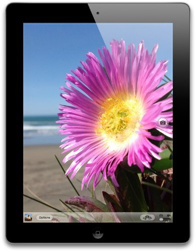 - Apple iPad with Retina Display MD510LL/A (16GB, Wi-Fi, Black) 4th Generation (Renewed)