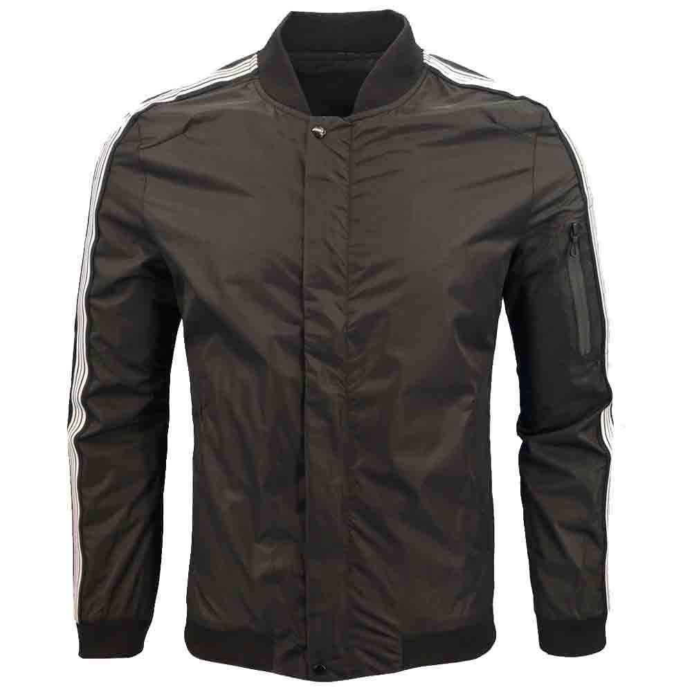 Dacawin Men's Winter Coat Sale Long Sleeve Zipper Casual Sport Jacket Baseball Uniform by Dacawin