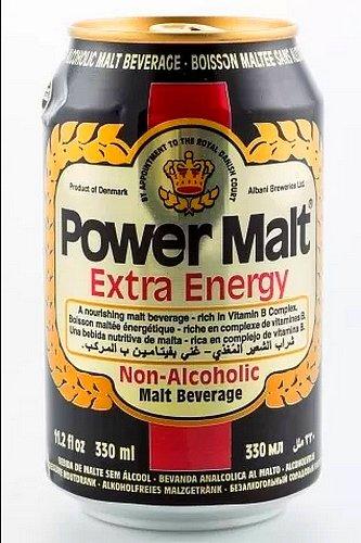Power Alcohol (Power Malt Extra Energy Beverage Drink 330ml 10 Pack)