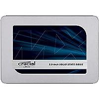 Crucial MX500 500GB 3D NAND SATA 2.5 Inch Internal SSD -...