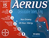Best Allergy Medicines - Aerius Allergy Medicine, 5mg, 50 Count Review