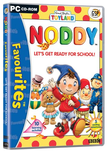 Noddy - Let's Get Ready for School (PC): Noddy: Amazon.co.uk: Software