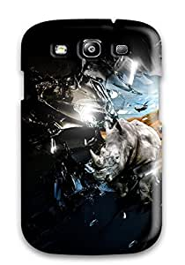 Hot Style ZQBVljj9151RxdsD Protective Case Cover For Galaxys3(crash)