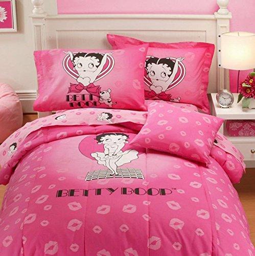 Popular Bath Betty Boop Queen Comforter, 86-Inch by 86-Inch