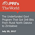 The Underfunded Govt Program That Got Drill Bits From Rural North Dakota to Zimbabwe | Jason Margolis