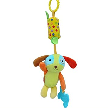 Baby Infant Rattles Plush Animal Stroller Hanging Bell Toys Doll Soft AL