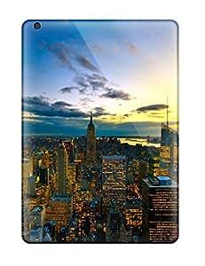 New Premium Flip Case Cover New York City Colors Skin Case For Ipad Air