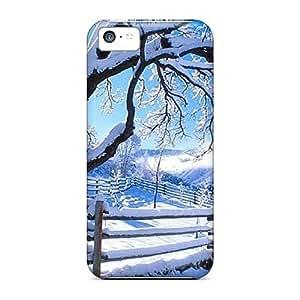Dana Lindsey Mendez UqPZgnD2838PvjfA Case Cover Iphone 5c Protective Case Winter Scene