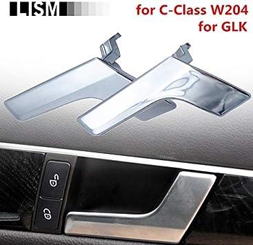 Amazon Com Car Interior Door Handles For Mercedes Benz C Class W204 Glk Inner Doors Panel Handle Bar Pull Trim Cover Chromed Mattte L R Matte Left Side Home Improvement