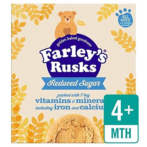 Heinz Farley's Rusks 18's Reduced Sugar 4-6 Mths Onwards 300g Farleys