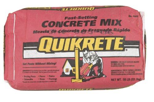 quikrete mix - 3
