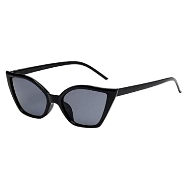 HCFKJ Mujeres Hombres Vintage Clout Cat Eye Gafas De Sol ...