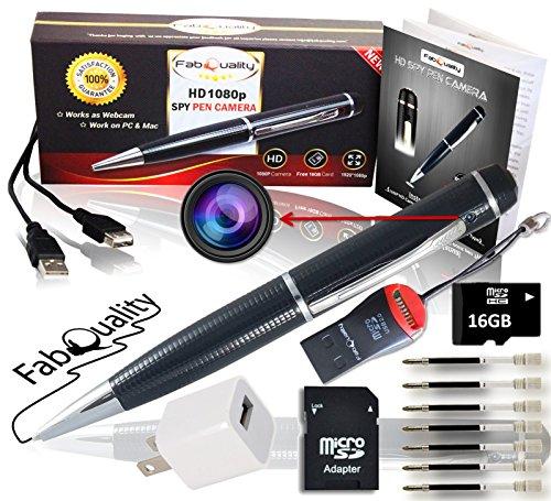 Fabquality Hidden Camera Pen Spy Pen Camera True Video Resolution