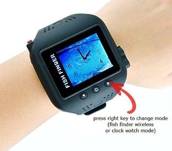 Gowe Wasserdicht Armbanduhr Typ Digital 4 -5 cm TFT farbigen Bildschirm Kabelloser Fisch-Finder 200 Fuß (60 m) Serie