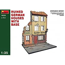 36038 1/35 Ruined German House Diorama Base w/Figure Se by Miniart