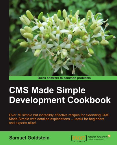 CMS Made Simple Development Cookbook by Samuel Goldstein, Publisher : Packt Publishing