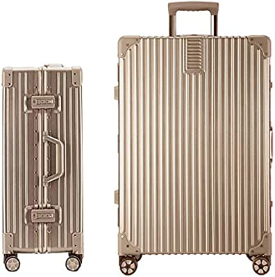 e8a6b969fd26 Luggage Suitcase Luggage Travel Trolley Boarding Case Retro Fashion ...