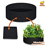 Strong Camel Big Bag Bed Herb Flower Vegetable Planting Raised Bed Gardening Dia 50''
