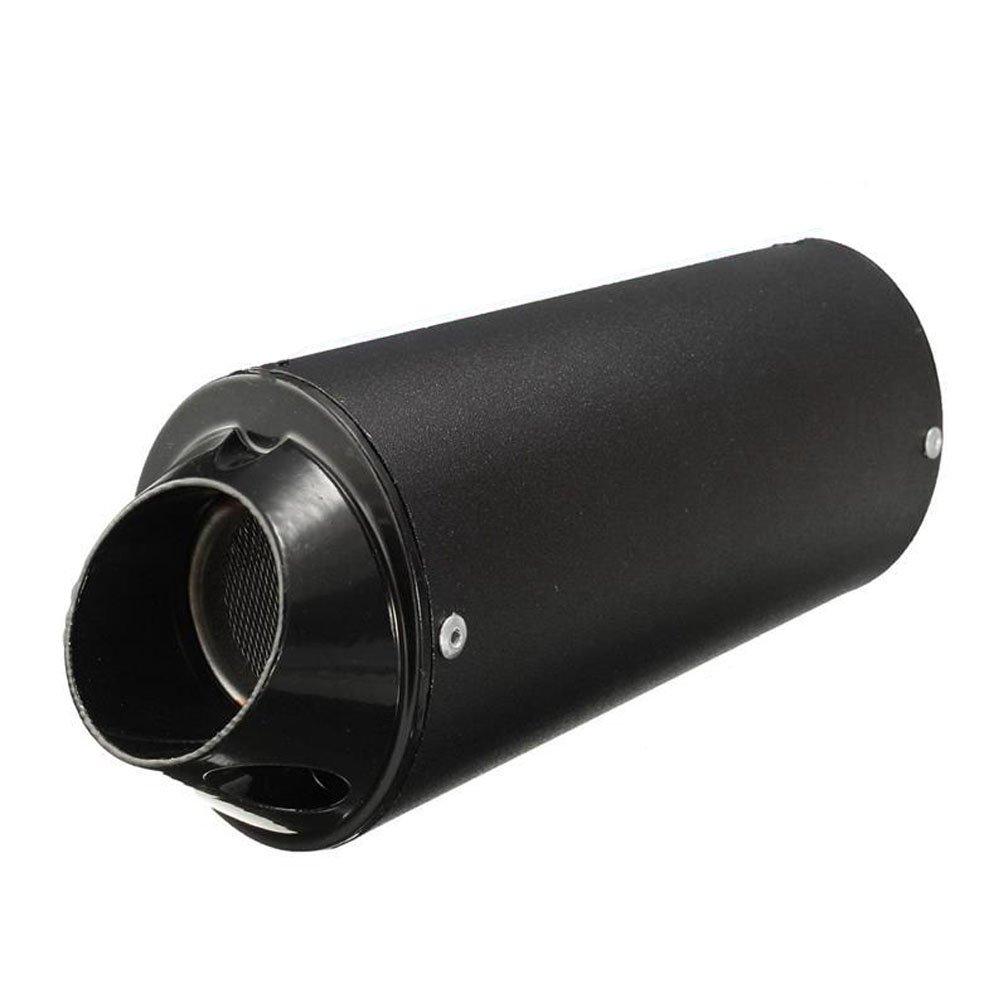 New 38mm Black Motorcycle Exhaust Muffler Silencer for 160cc 150 140 125 Dirt Pitbike Lifan Yx Stomp SDG Removable Pit Dirt Bike ATV Universal FYH