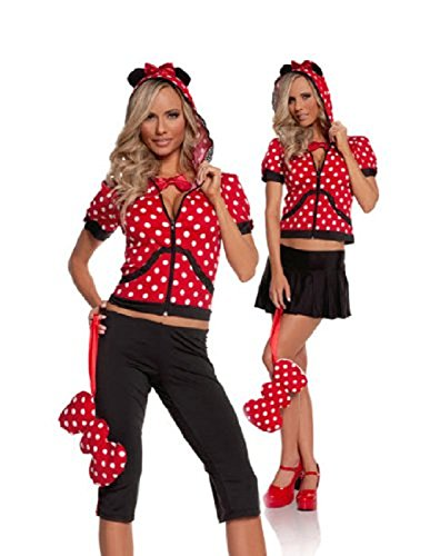 Minnie Miss Mouse Teen Costume By Elegant Moments - (Teen Minnie Mouse Costumes)
