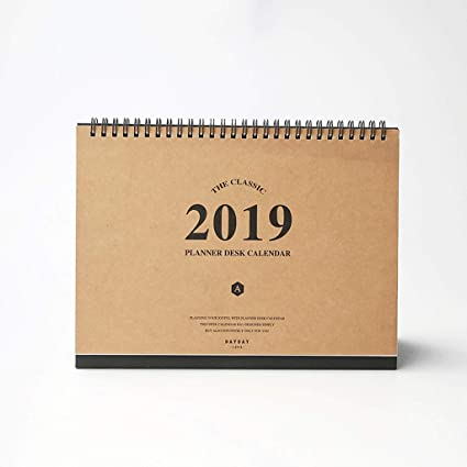 Amazon.com: 2019 Multifunction Calendars Weekly Planner ...