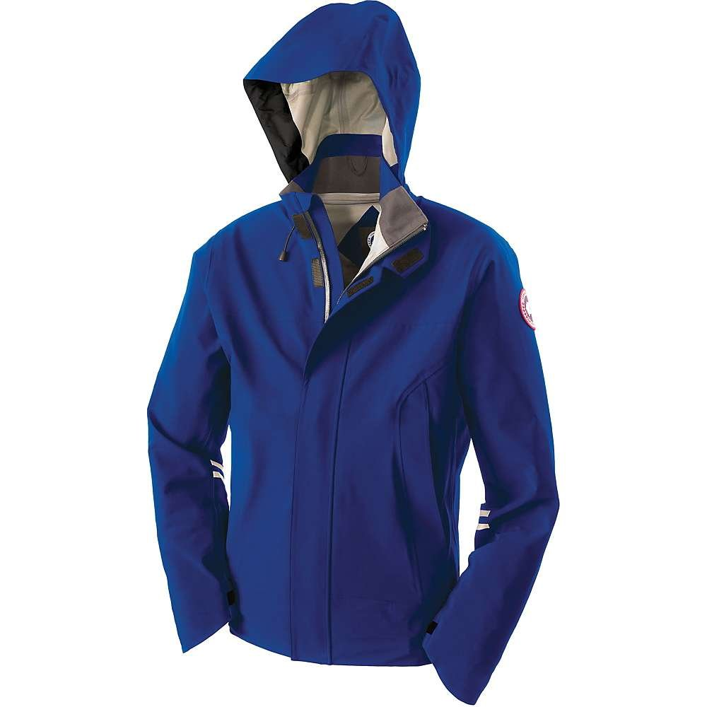 fcb69822109 Canada Goose Men's Ridge Shell Jacket, Pacific Blue/Mid Grey, Medium ...