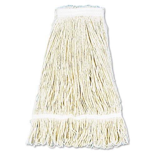 (Pro Loop Web/Tailband Wet Mop Head, Cotton, 24oz, White, Sold as 1 Each by Boardwalk)