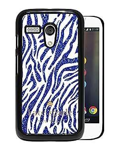 Unique Designed Kate Spade Cover Case For Motorola Moto G Black Phone Case 62
