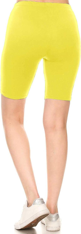 Leggings Depot Printed Fashion Biker Shorts