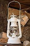 Feuerhand Galvanized Lantern - White