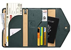 Zoppen Mulit-purpose Rfid Blocking Travel Passport Wallet - Version 4 It was made from premium polyurethane and faux suede, offer a better grip on the clutch. The new one has more comfort touching base on the more sponge added. Well organized...