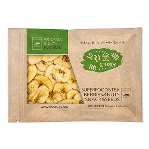 Wooriga Story Dried Banana Chip   900g   1 Pack, Sweetened Dried Banana Slice, Tasty and Nourishing Snack for Kids…