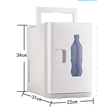 GEGEQUNAERYA Mini refrigerador pequeño del congelador eléctrico casero de 4 litros