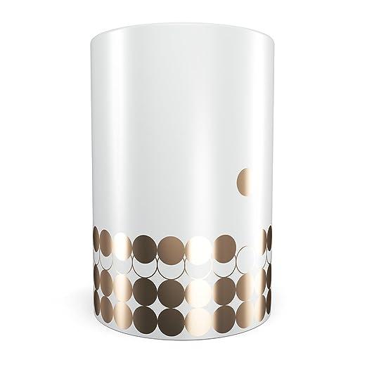 Taza térmica de porcelana Portobello blanco y dorado No. 3 de ...