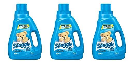 Snuggle - Suavizante de tela líquida con liberación fresca, azul ...