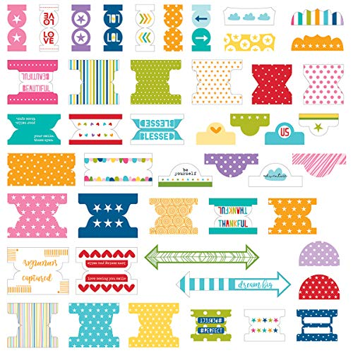 Bella BLVD Oh My Stars Collection Tabbies Colorful (3 Pack)]()