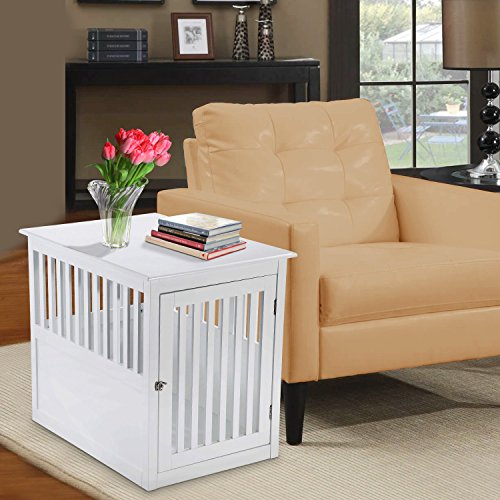 Pet Hup Hup Crate Table For Dog's Cat's Comfort Chest End Table (Multi) by Pet Hup Hup