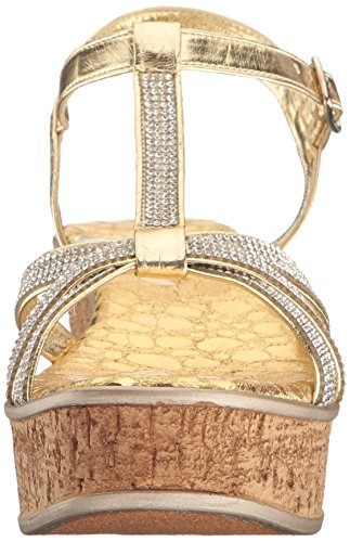 Love Liberty Sandal Gold Ll Caron Women's amp; Wedge BBWcqFSwr5