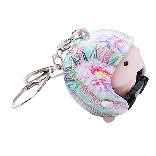 Soft Mochi Tinting Squishy Toy Helmet Cute Keychain Squeeze Relief Mischief Prank Toy Helmet Cartoon Cap Motorcycle Keychain Squeezing (A)