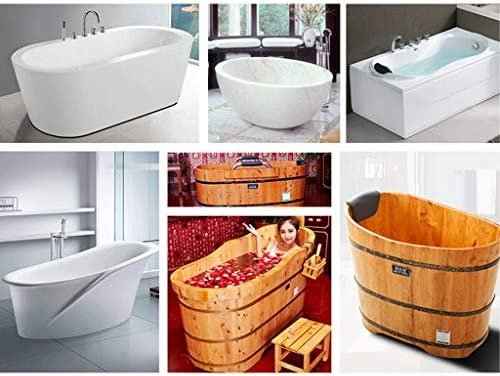 浴用ステップ バスキャディバストレイバスボードステンレス鋼バスタブフレーム浴室格納式バス多目的携帯電話ブックホルダー収納棚 浴用ステップ (Color : Silver, Size : 63.5-98*20cm)