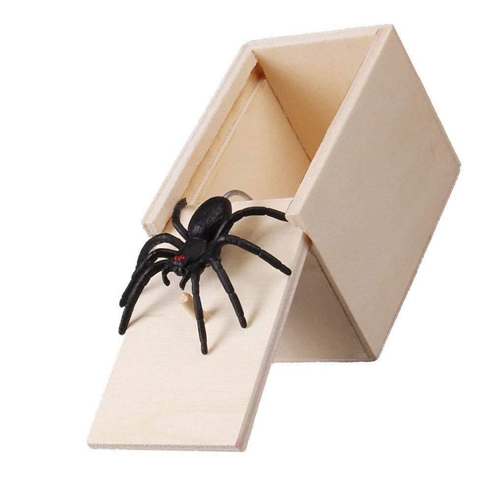 Keepbest Bo/îte /à r/épulsif en Bois pour Farce et effrayer Les araign/ées