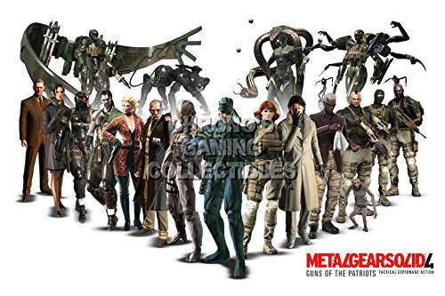 cgc-huge-poster-metal-gear-solid-4-characters-mgso08-24-x-36-61cm-x-915cm