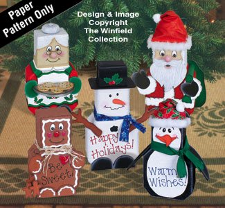 Cheap  Christmas Patio Paver Pals Pattern