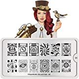 MoYou-London Nail Art Image Stamping Plate Steampunk Collection 05 US Stock
