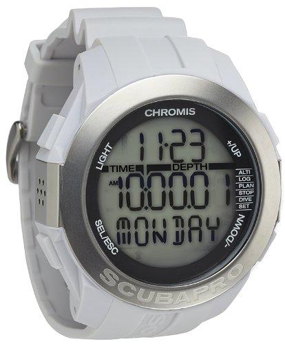 Scubapro Chromis Scuba Diving Computer Watch - White
