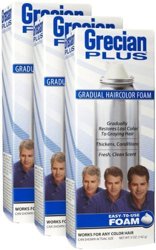 (GRECIAN PLUS Haircolor Foam 5 oz)